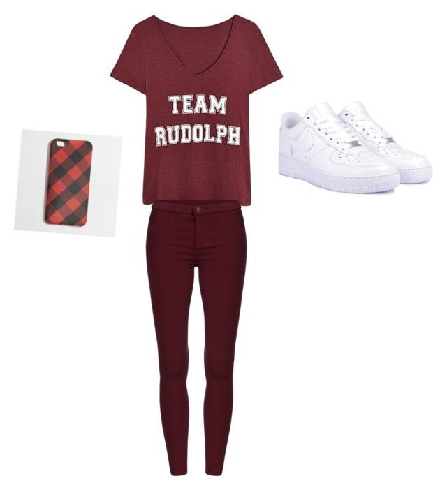 """""""Untitled #6"""" by imperfectjustsoyouno ❤ liked on Polyvore featuring NIKE and J.Crew"""