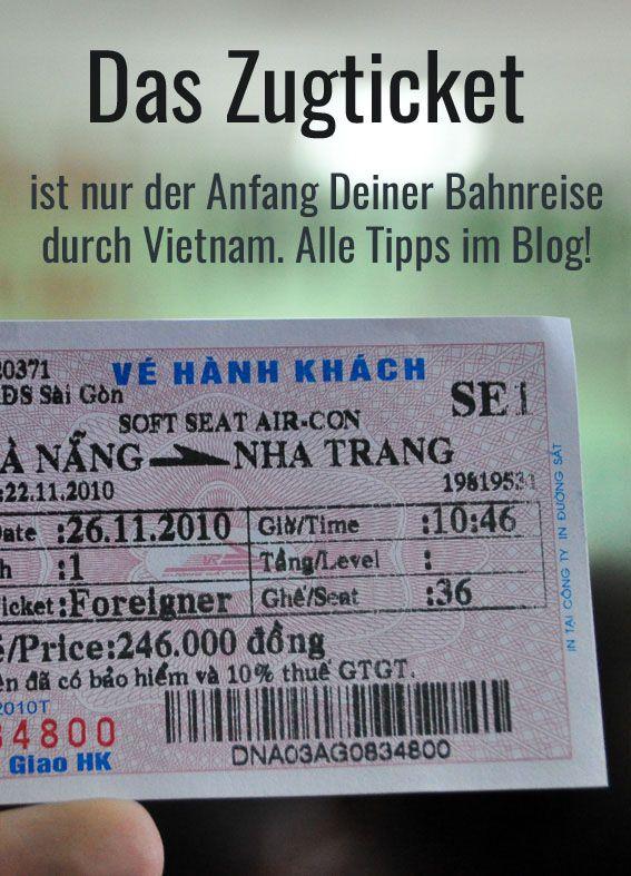 Mit dem Zug Vietnam zu bereisen ist ein besonderes Abenteuer. Alle Tipps für Dein Bahnreiseabenteuer und Infos zu Zugtickets in Vietnam, Fahrpläne und Sicherheit. #schienenreisen
