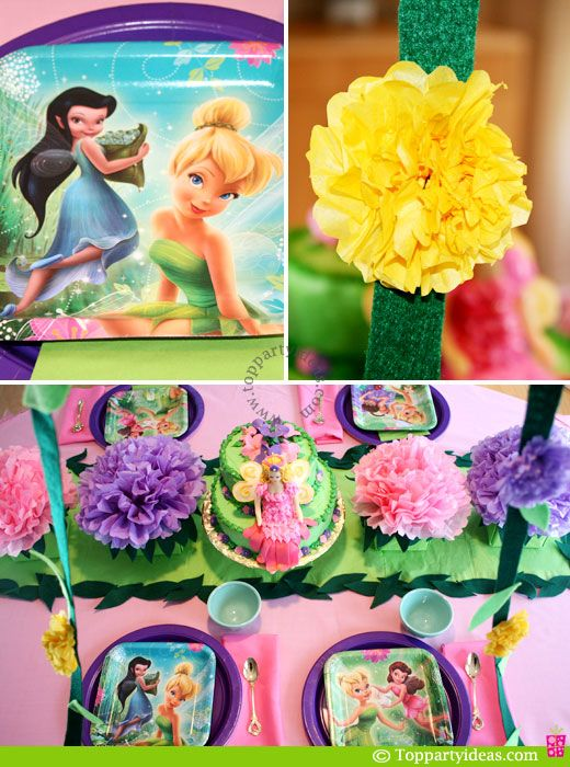 images of birthday ideas | Tinkerbell Birthday Party Ideas