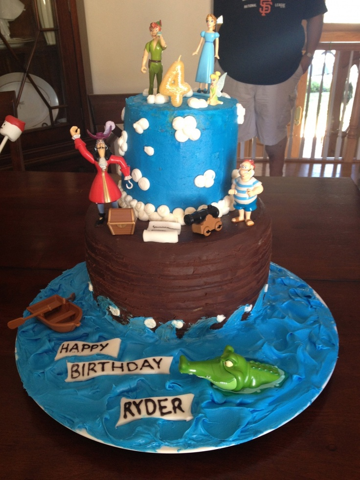 Peter Pan cake - I think I can make this!