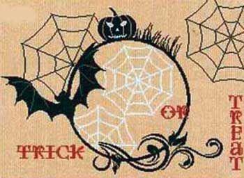 Halloween Atmosphere (cross stitch)