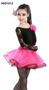 latin dance dress GD1612 PINK