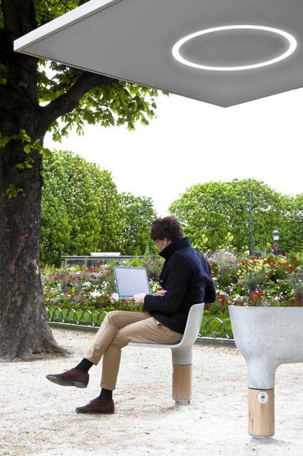 Wi-Fi pavilions in Paris