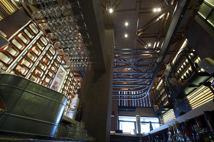 Bo Cafe Florina #interior #design #EpilisisStudio #cafe #bar #industrial