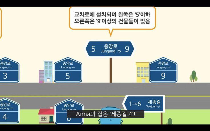 도로명주소 체계를 빠르고 쉽게 이해하실 수 있도록 안내해드립니다.