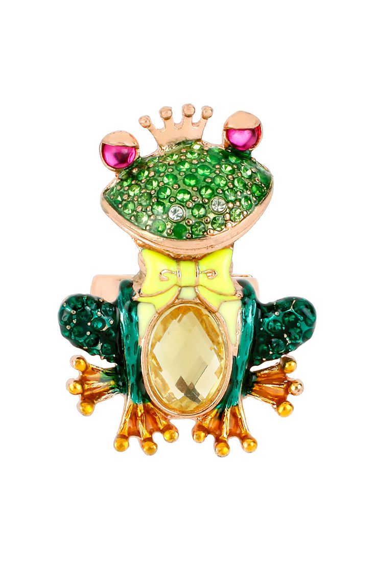 Frog Stretch Ring on HauteLook - I am so in love with this ring! :) So cute!