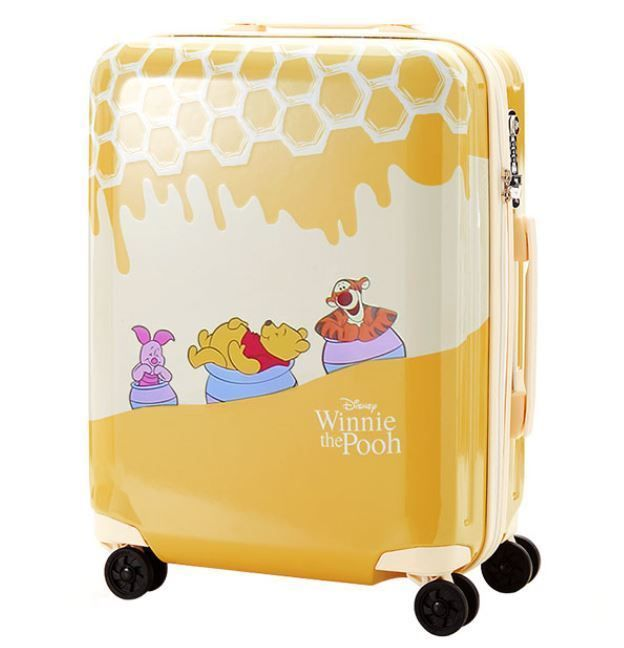 3da5e5c2dfda8 Winnie the Pooh Suitcase Piglet Tigger Disney Honey Luggage Bag ...