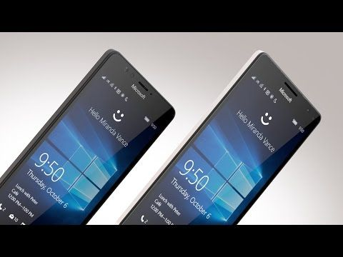 The New Microsoft Lumia 950 and 950 XL - YouTube