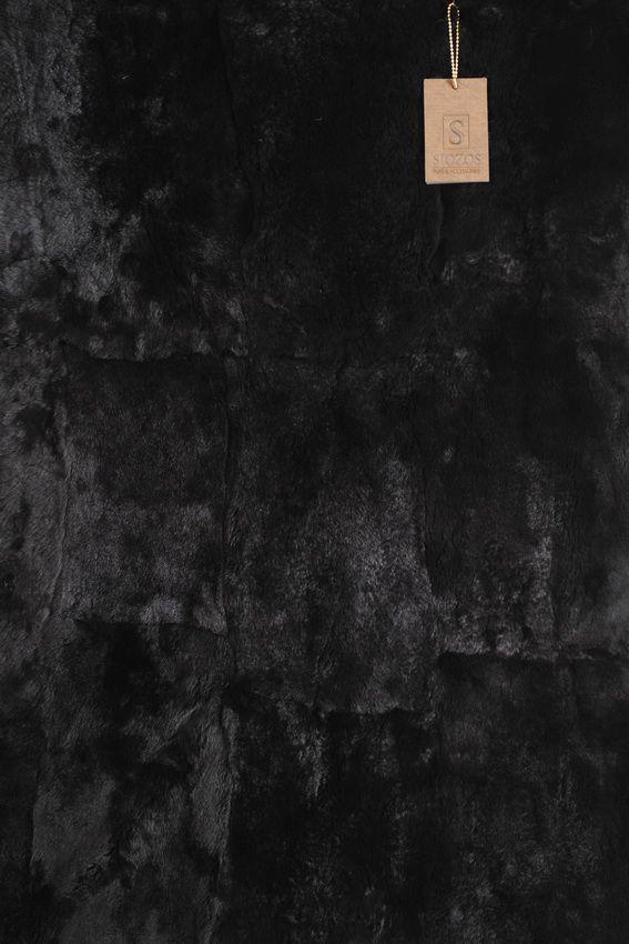 Panel of Rex Rabbit Skin Dyed. Size 120 x 80 cm.