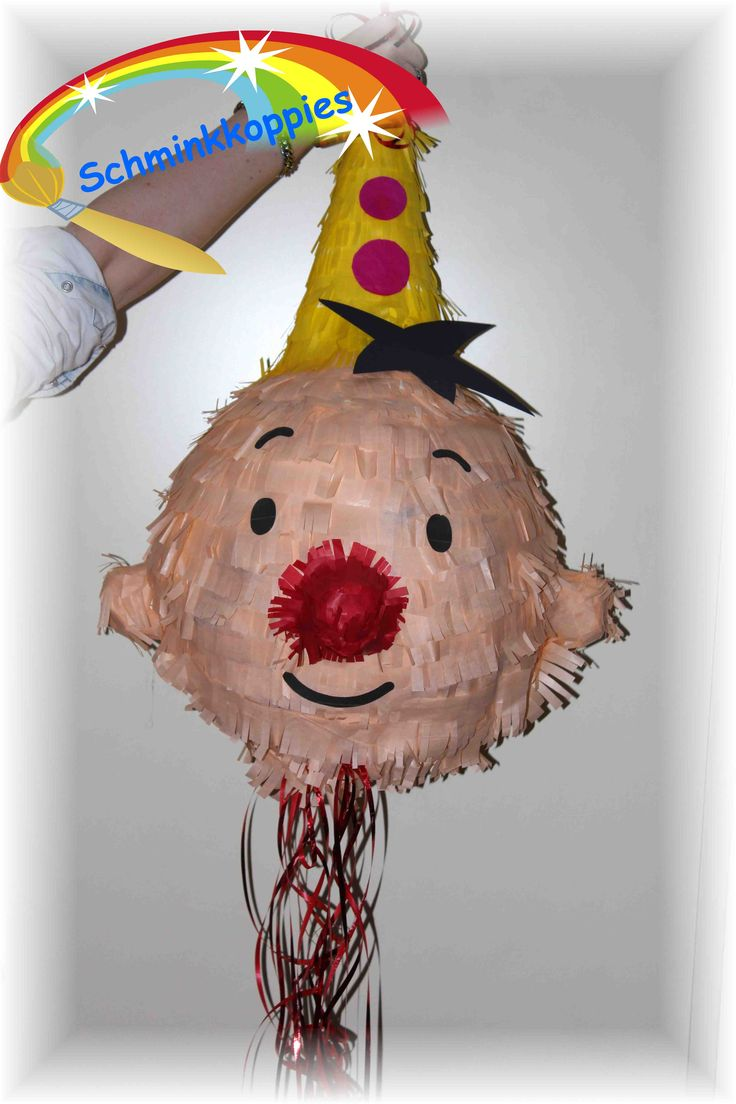 Bumba pinata made by Schminkkoppies