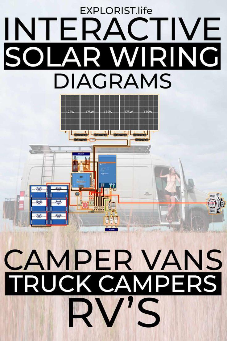 Diy Solar Wiring Diagrams For Campers  Van U0026 39 S  U0026 Rv U0026 39 S