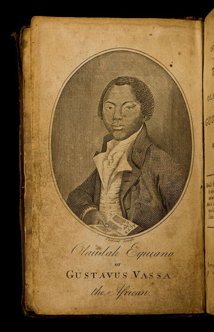 huntingtonlibrary:    Olaudah Equiano (c. 1745-1797) was kidnapped as a boy in what is now Nigeria and sold into slavery. He purchased his freedom in 1766 and subsequently settled in England where he became an ardent and well-known abolitionist. In 1789 he published his autobiography The Interesting Narrative of the Life of Olaudah Equiano or Gustavus Vassa the African. The book played an important role in bringing the British slave trade to an end.  images: Pages from the first American…