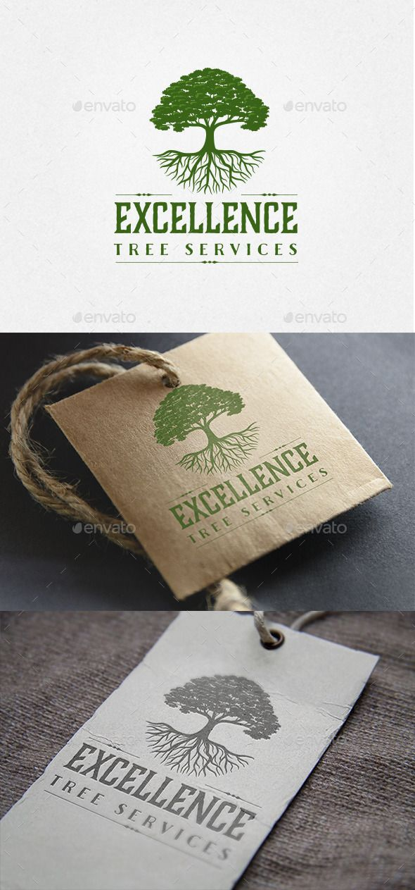 Oak Tree Logo - Nature Logo Templates - What are the roots of the legal industry anyways?