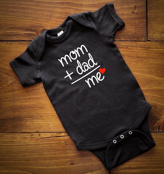 Mamá papá es igual a mi mono camisa de los por ImPressedClothing