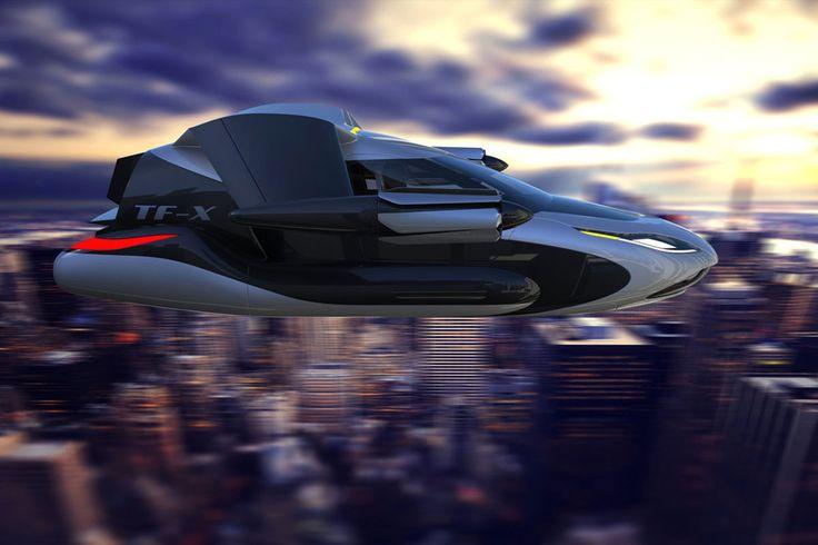 Летающий автомобиль Terrafugia T-FX
