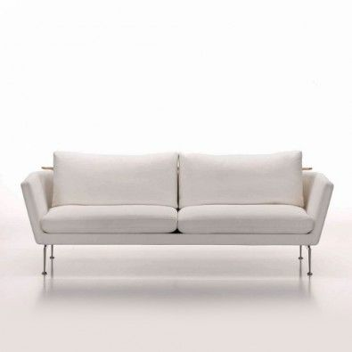 "Vitra Suita Sofa:  three seater in a configuration is 10-11K.  Two seater is good with fixed pillows, the 3 seater with the pointed throw pillows. 34.75"" H x 74"" W x 45.75"" D.  (the depth does not make sense....and I don't have the seat depth.)"