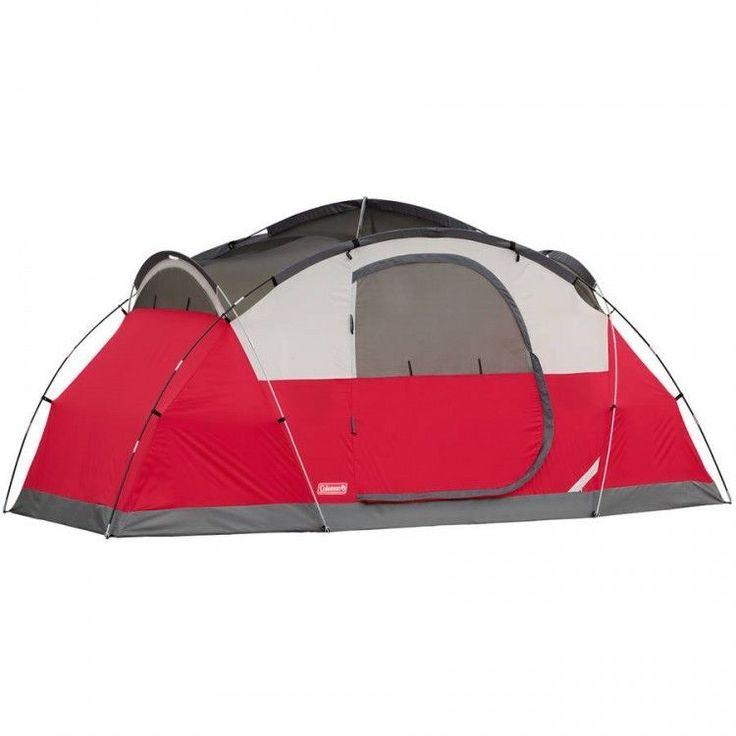 Carpa domo de 8 personas Coleman familiar al aire libre Senderismo Camping Impermeable instantáneo