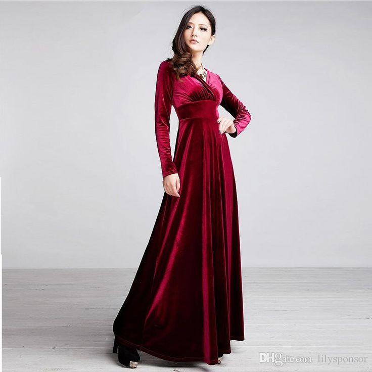 Large Urban X Womens Clothing Dress Purple Long Sleeve Cotton