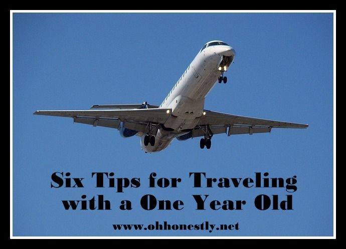 Six tips for traveling with a one year old www.ohhonestly.net