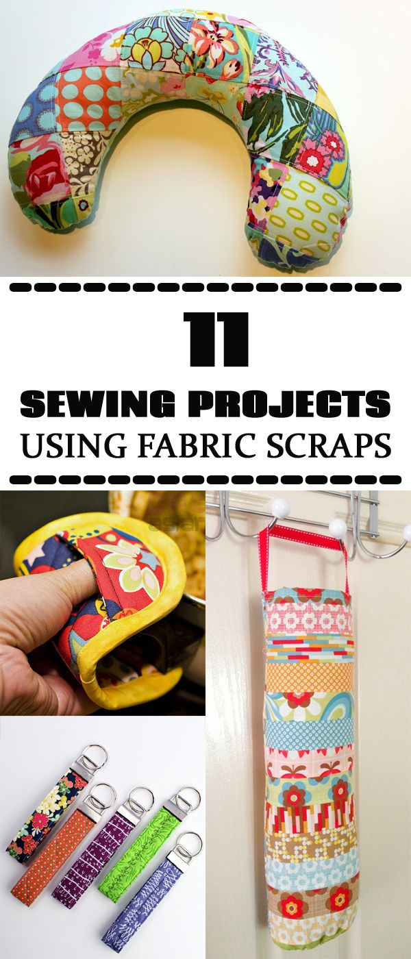 11 Sewing Projects That Will Help You Use Up All Your Fabric Scraps