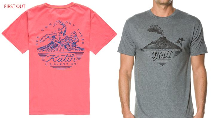 Katin was First to make this tee...Oneill knocked off the concept