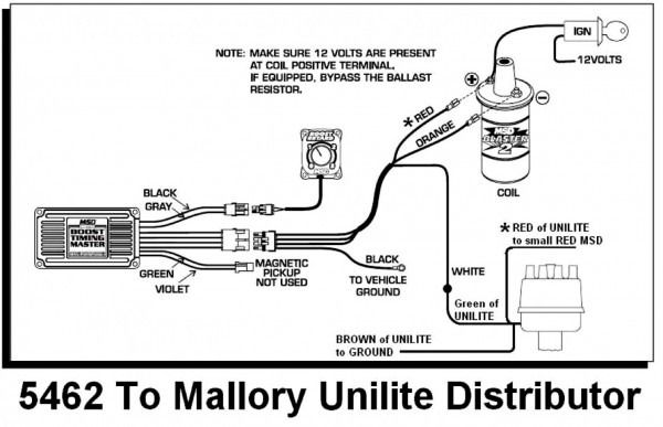33 Mallory Dual Point Distributor Wiring Diagram