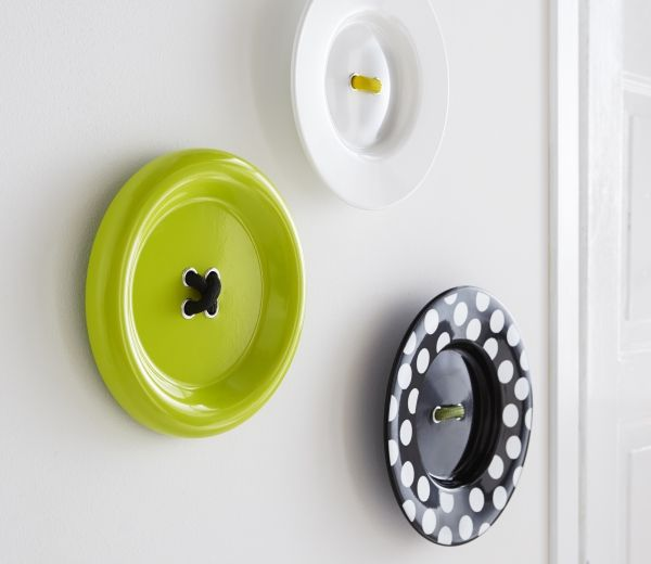 Always something new at IKEA! GRÄDDIG wall button decorations become a playful and surprising eye-catcher in your home.