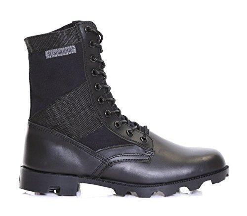 Oferta: 25.99€. Comprar Ofertas de Slimbridge Force botas militares para hombre, Negro 45 barato. ¡Mira las ofertas!