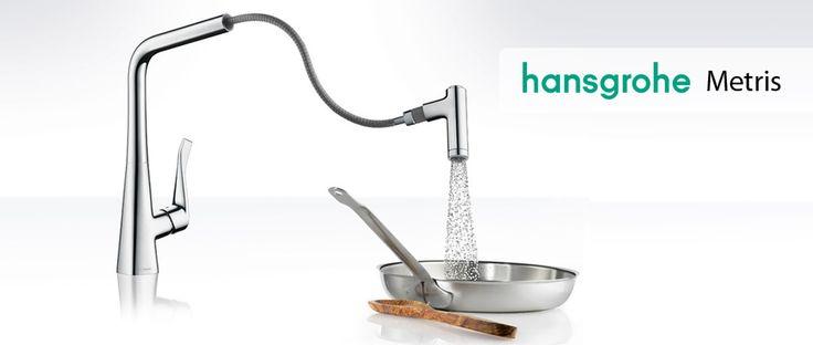 Hansgrohe Metris grifo de cocina ducha extraíble