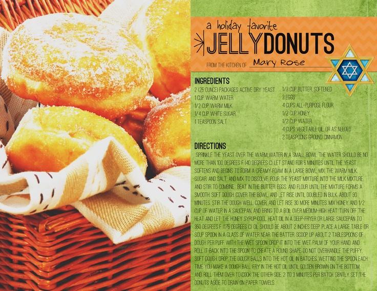 97 best FOOD & RECIPE SCRAPBOOK LAYOUTS images on Pinterest ...