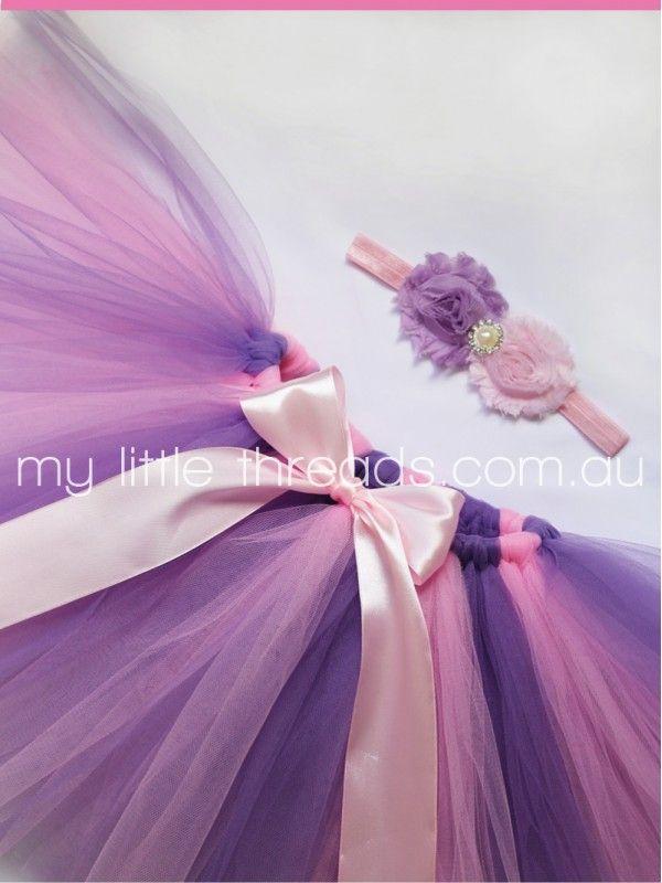 Bubblegum Pink & Lavender Tutu