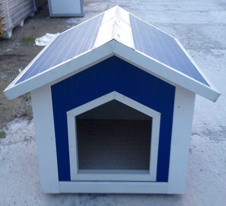 A medium size dog kennel for cockers