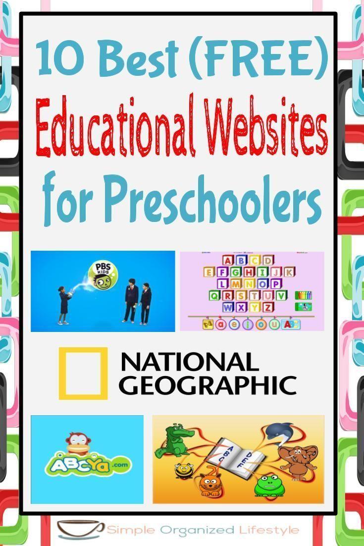 10 Best Free Educational Websites For Preschoolers Free