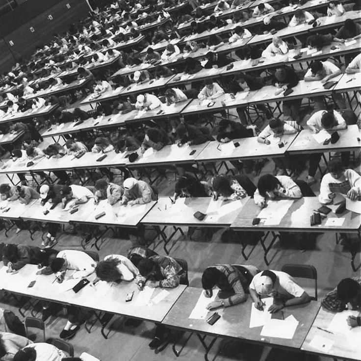 Final Exams at #UofG, April 1992. #tbt