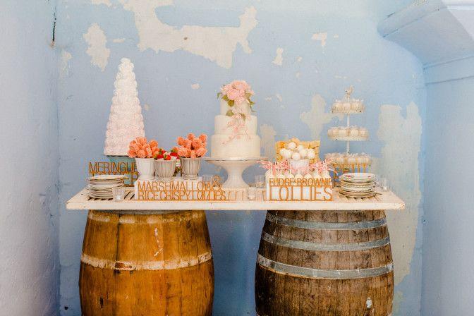 Steff & Ian | Stellenbosch Wedding | Dessert Table