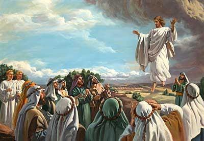 O DIÁRIO DE DEUS: Ascensão de Jesus aos céu
