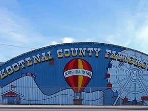 Exhibition Building at Our Kootenai County Fair.