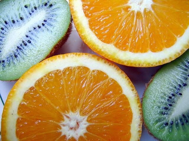 Vitamina C a dojo