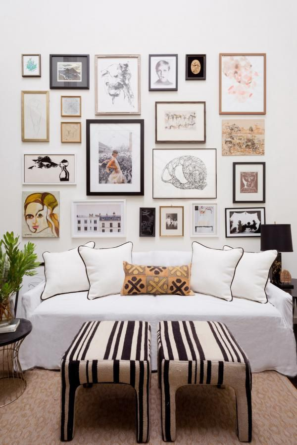 20 Gallery Wall Ideas To Create A Focal Point In Any Room Decor Minimalism Interior Home Interior Design