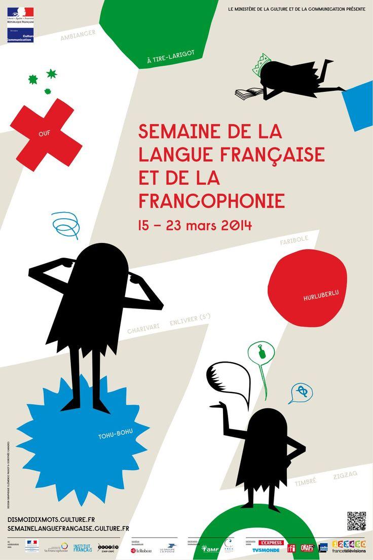 Semaine de la langue française et de la francophonie, 15-23 mars 2014