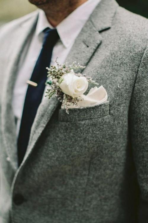 Le marié était en gris !