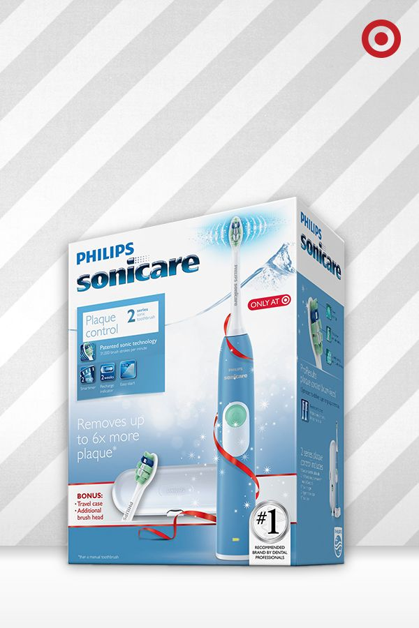Here's a great stocking stuffer for guys—the Blue Philips Sonicare 2 Series toothbrush. This toothbrush is packed with power, comfortable to hold and comes with a bonus brush head and travel case. Plus, there are other Target-exclusive color options to choose from.