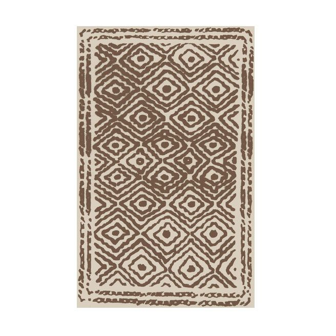 Diamond Eye Rug - Brown | dotandbo.com