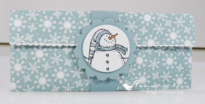 Christmas Money Holder 2012 - Chic 'n Scratch
