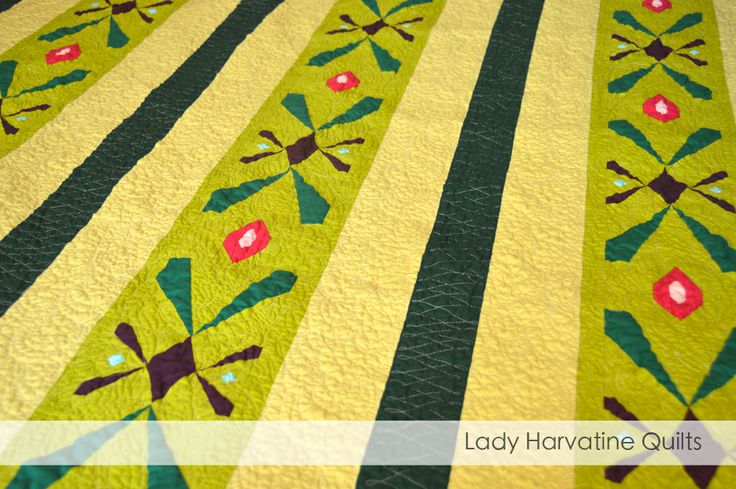 Anna Quilt - paper pieced pattern available at ladyharvatine.com
