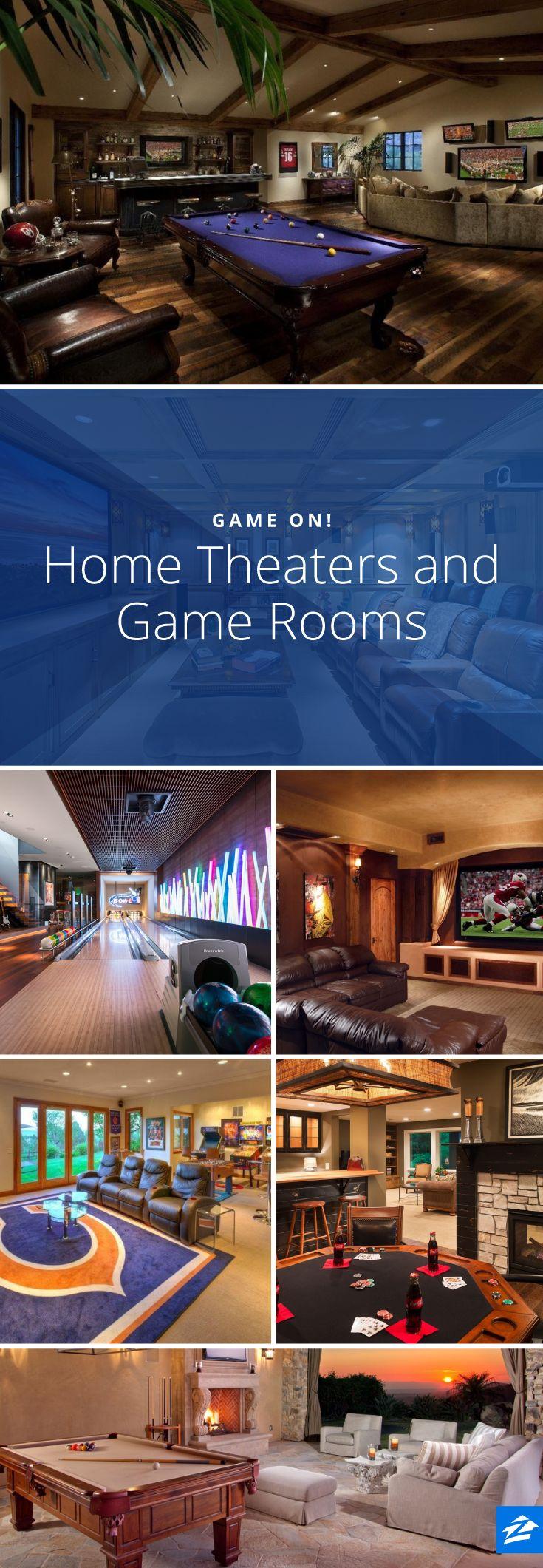 ⚜ Espacios recreativos en casa / Entertainment spaces in Home...
