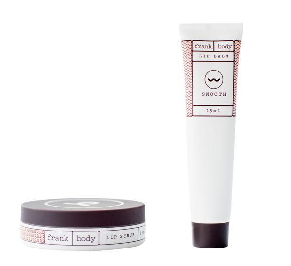 Pucker up babe, frank body's lip scrub and lip balm duo is a survival kit for your pout. Both products are made with all natural ingredients and have frank body's signature coffee base.