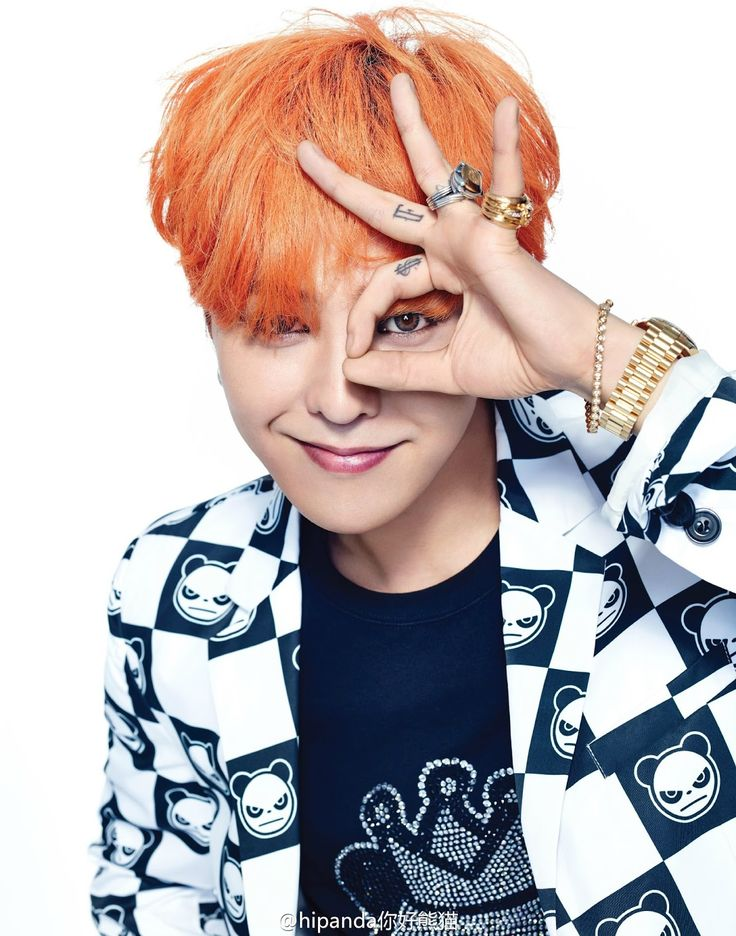 gilbakk's story: [+2P] G-DRAGON - China fashion brand「HI PANDA」Photo(15P)