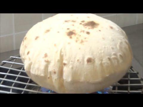 خبز بمكونين فقط بدون خميره وبدون فرن فى 10 دقائق مطبخ ساسى - YouTube