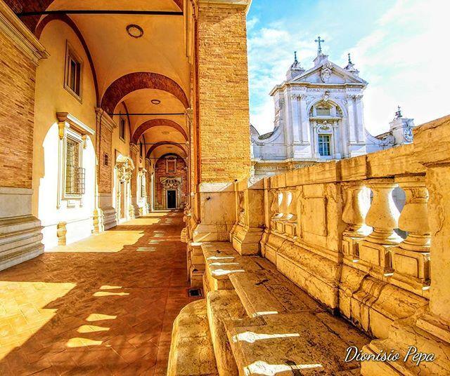 Sanctuary of Loreto: The Apostolic Palace ❤️  #SantuariodiLoreto #arte #fede #Bellezza #SantaCasadiLoreto #MadonnadiLoreto #SanctuaryofLoreto #art #faith #OurLadyofLoreto #HolyHouseofLoreto #SantuariodeLoreto #beleza #Fé #NuestraSeñoradeLoreto #VirgendeLoreto #SanctuairedeLoreto #SainteMaisondeLorette #NotreDamedeLorette #NotreDamedeLoreto #destinazioneMarche #RivieradelConero #ViaLauretana #Loreto #Loretoturismo  ➤Ph by Dionisio Pepa